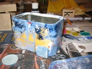 start to paint!
