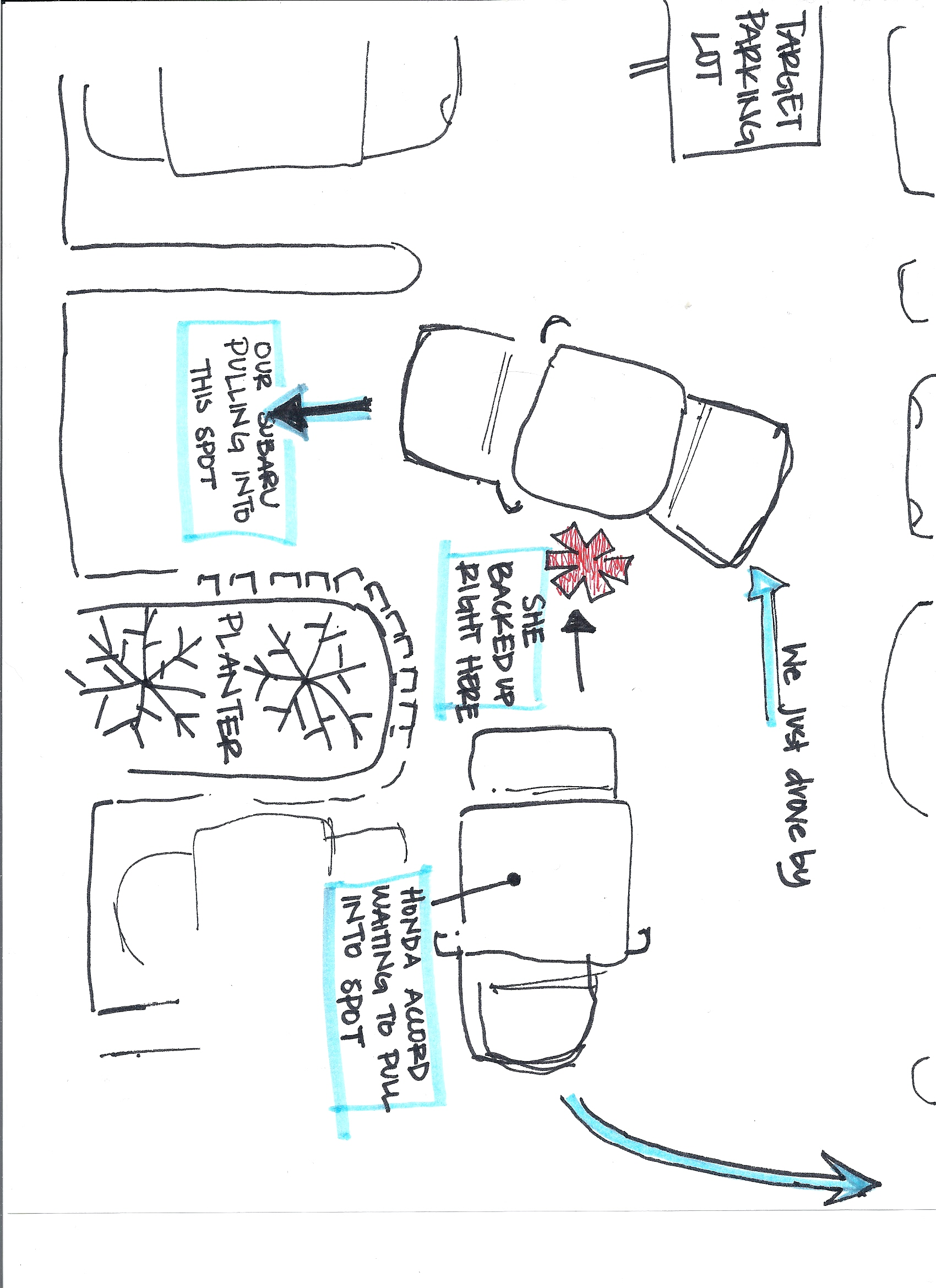 diagram for car accident