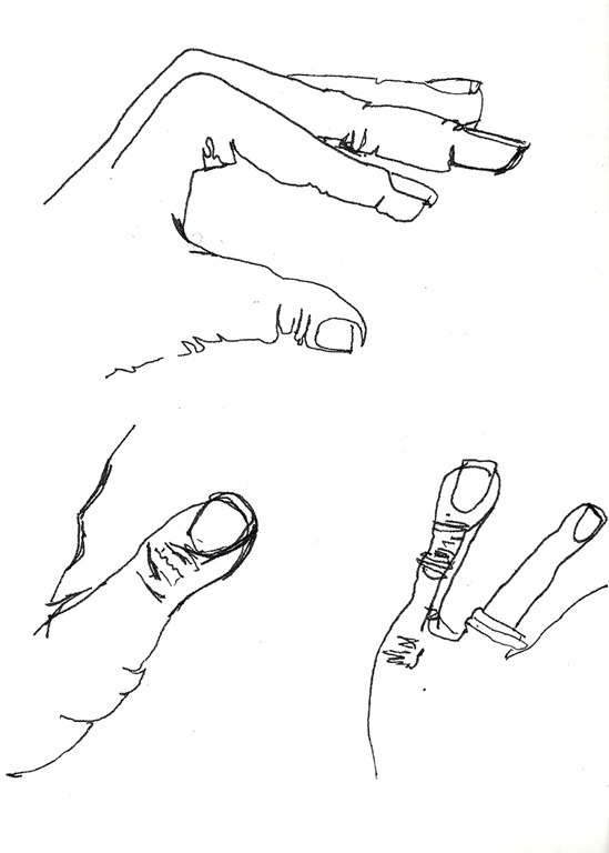 how to draw perfect hands