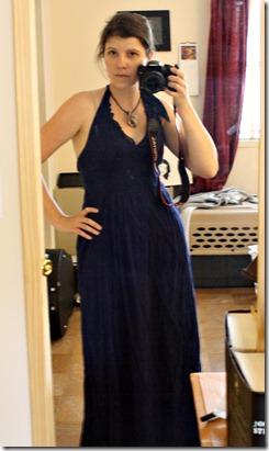 initial dress