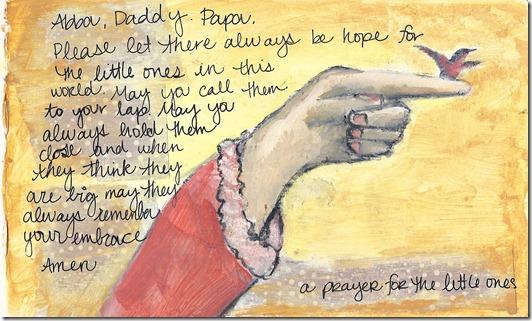 prayer for the little ones