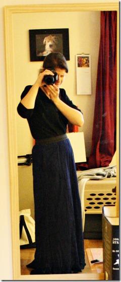 skirt on