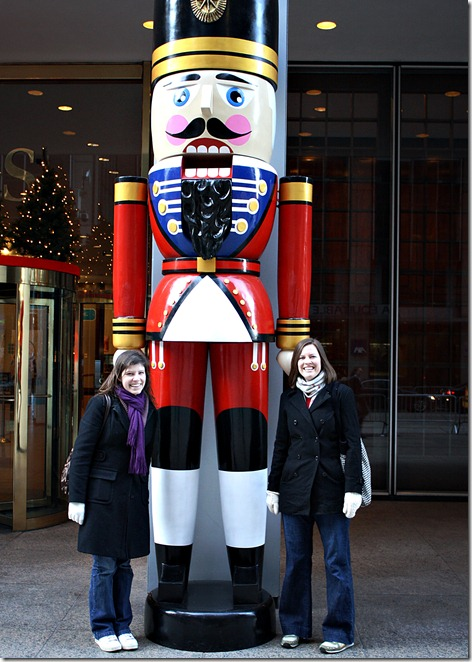 joy and kim and nutcracker