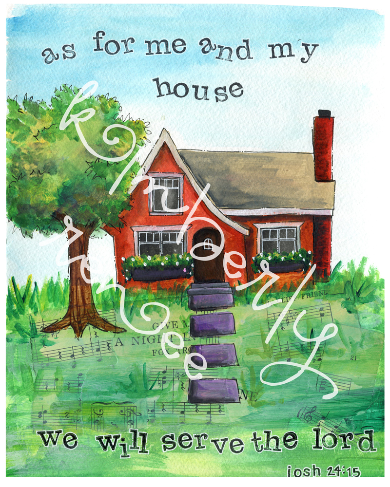 house painting + printable | dream