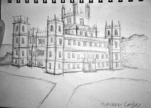 highclere sketch